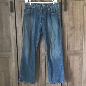 Carhartt 33x32 Loose Straight Blue Jeans